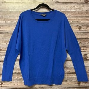 Vince. Royal Blue Wool Sweater